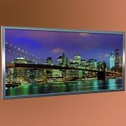 ECOSUN G Glas-Bildheizung mit Aluminiumrahmen